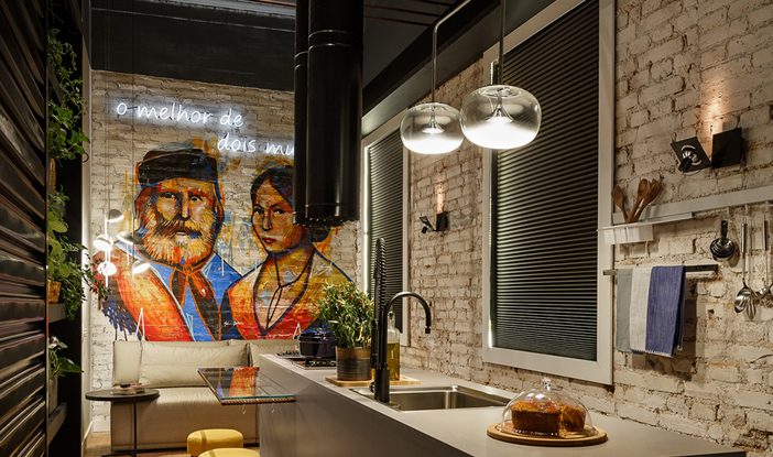 cozinha dois mundos
