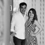 Joyce Stela e Leonardo dias
